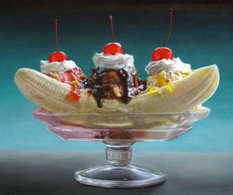 Big Banana Split by Mary Ellen Johnson