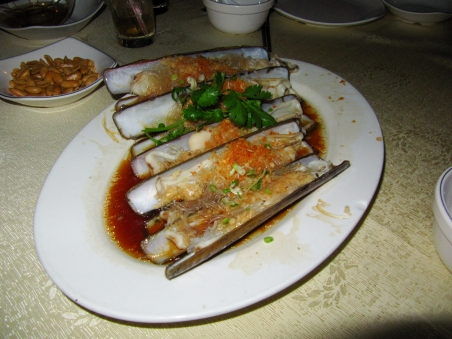 steamed_razor_clam