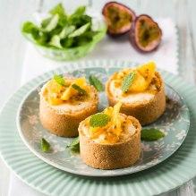 Granadilla-and-citru-mini-cheesecakes