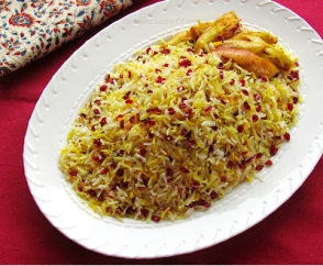 Zereshk Polow_Turmeric and Saffron
