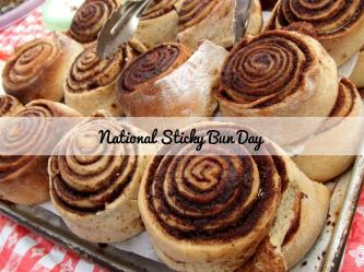 NationalStickyBunDay